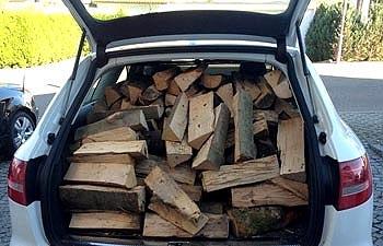 колотые дубовые дрова с доставкой по Украине