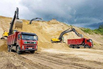 Цена песка овражного